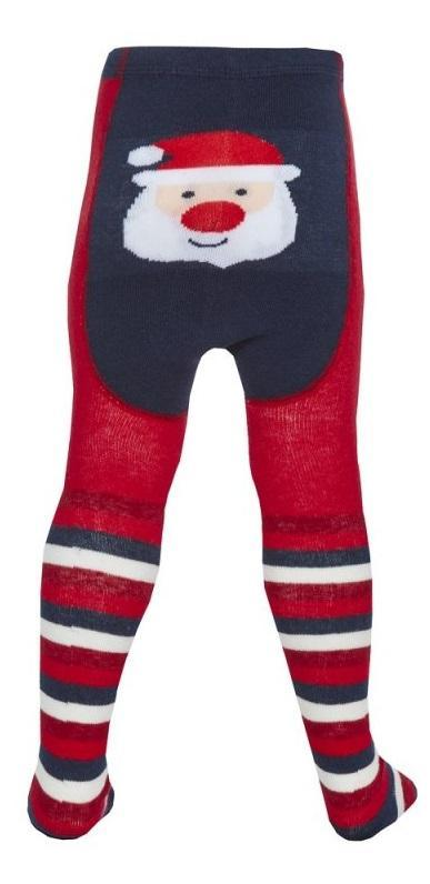 BABY CHRISTMAS PATCH PANEL DESIGN TIGHTS (0-24 MONTHS)