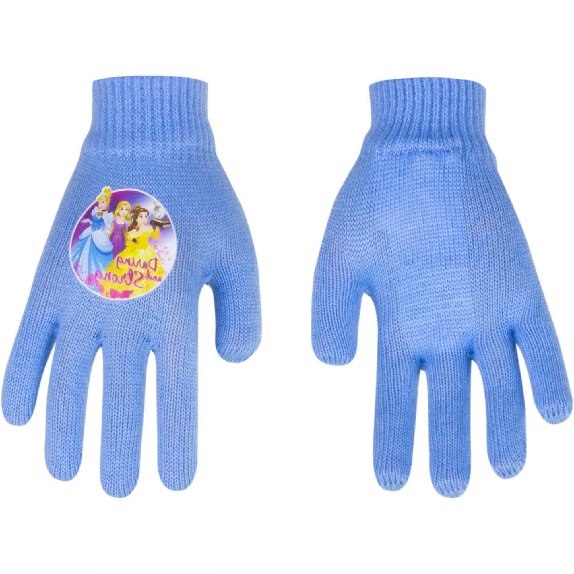 Princess gloves Magic Light Blue (Age: 2-5 years old)
