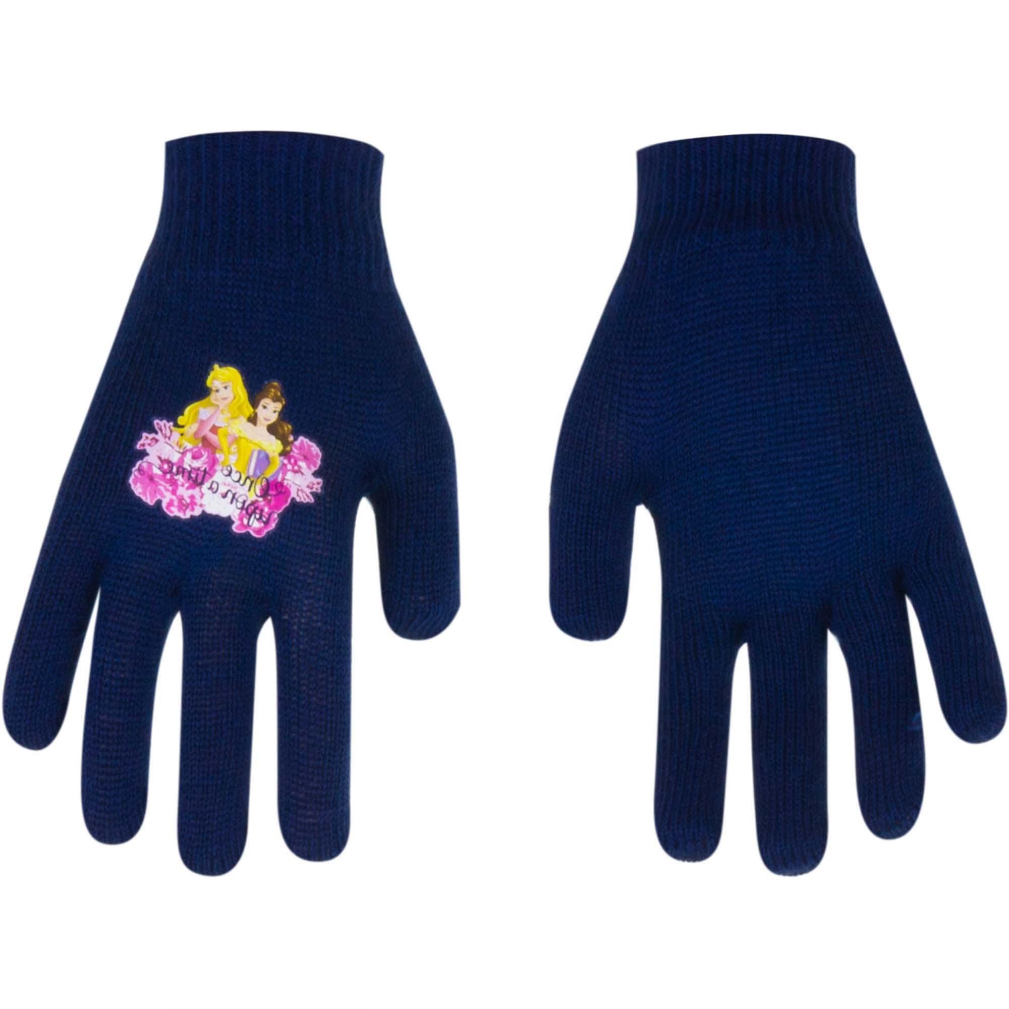 Princess gloves Magic Navy (Age: 2-5 years old)