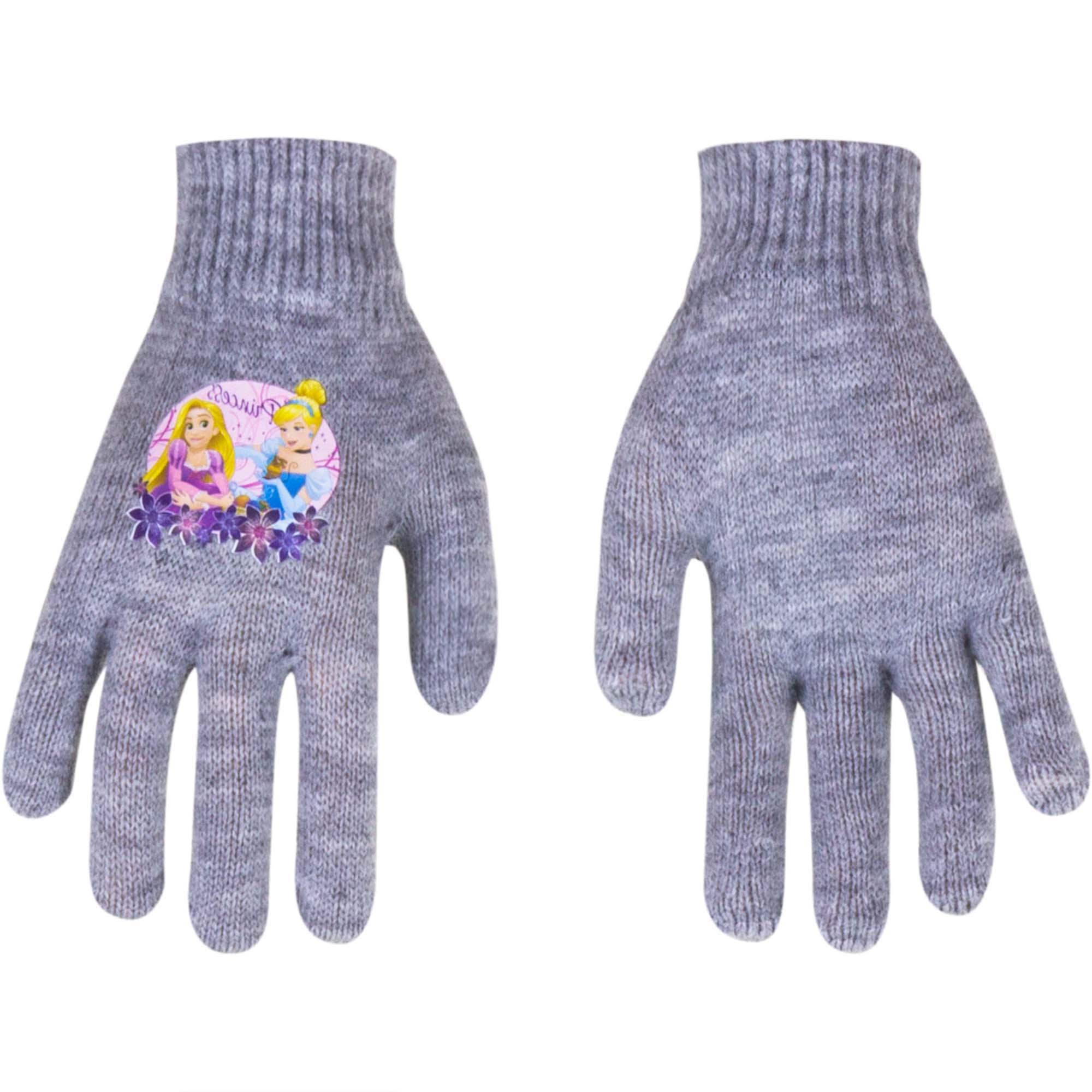 Princess gloves Magic Grey (Age: 2-5 years old)