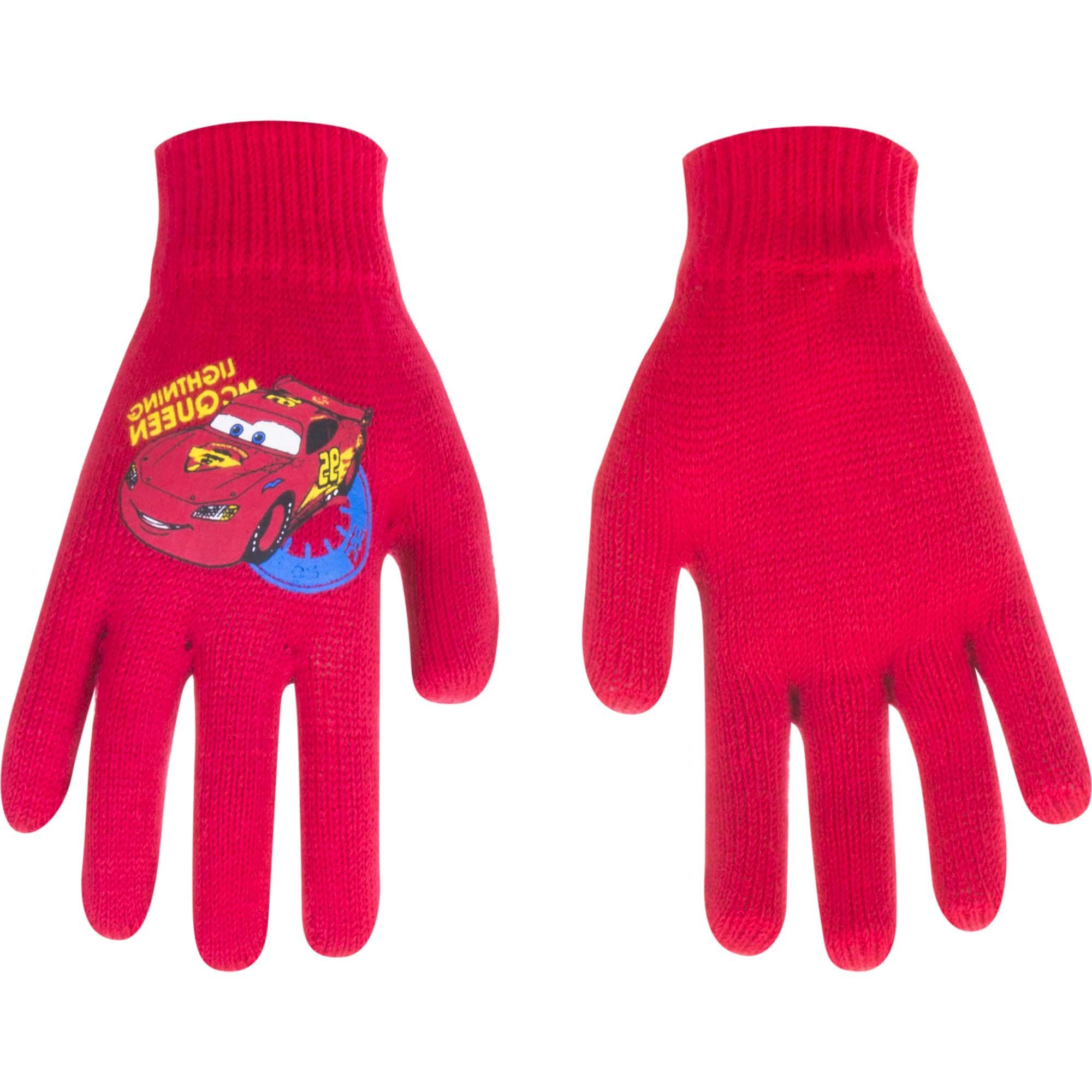 Cars Disney gloves MCQueen Red (Age 1-5 years)