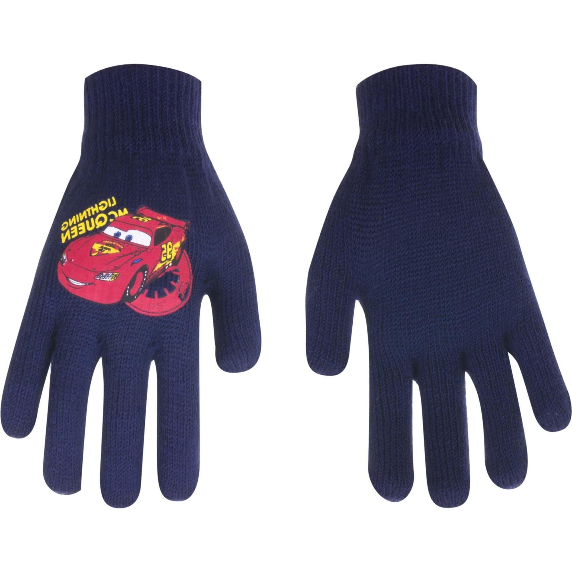 Cars Disney gloves MCQueen Navy (Age 1-5 years)