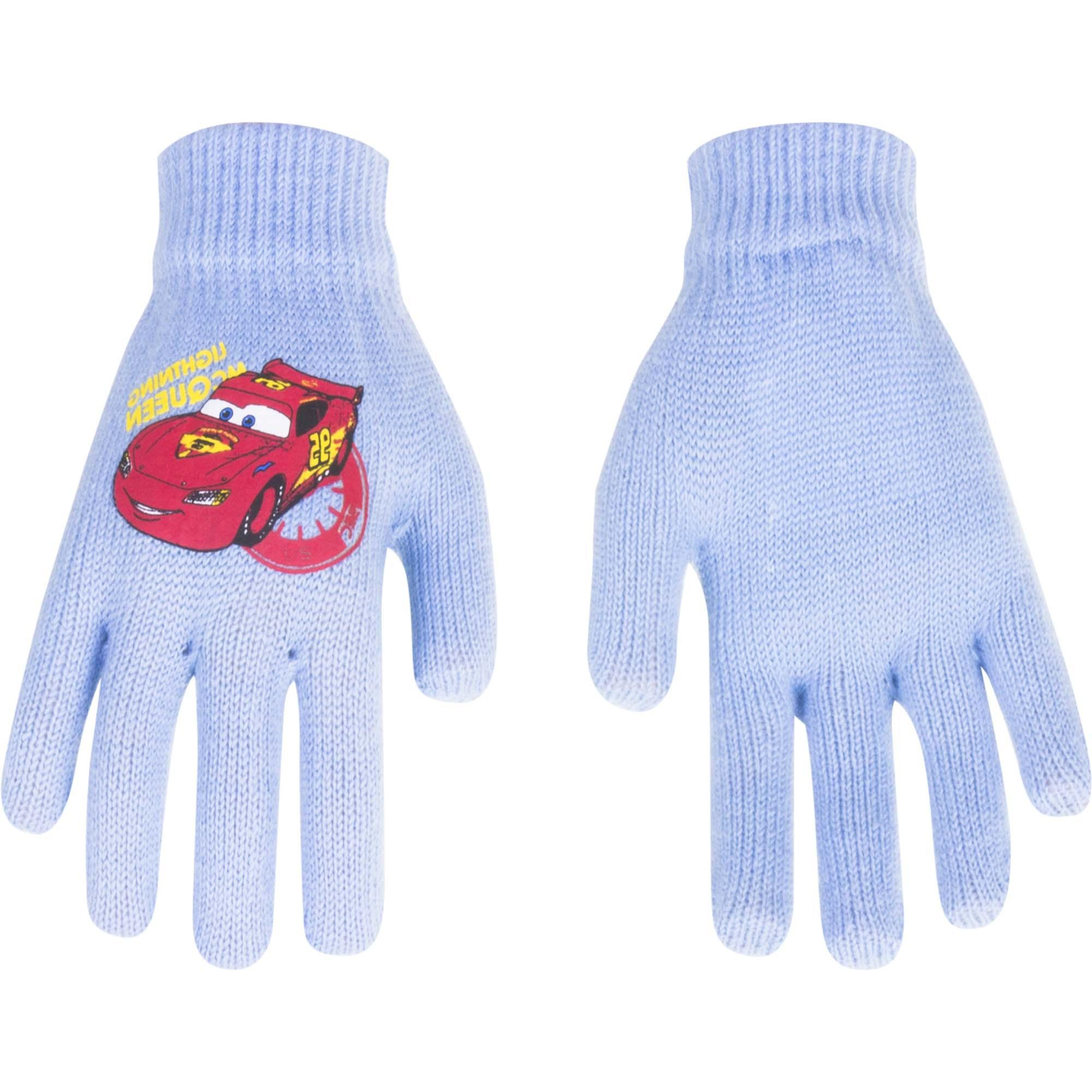 Cars Disney gloves MC Queen_ Light_Blue(1-5 years old)