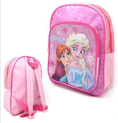 OFFICIAL FROZEN GLITTER BACKPACK WITH POCKET