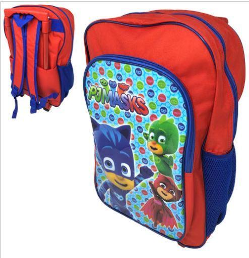 PJ MASKS DELUXE TROLLEY BACKPACK