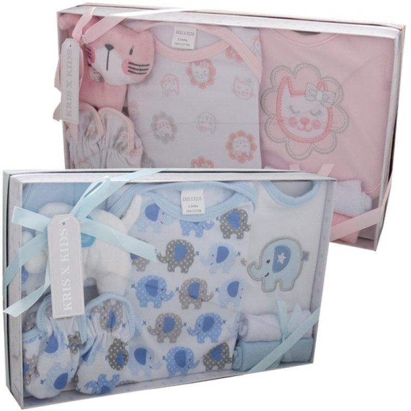 7 PIECE LUXURY BOXED GIFT SET (0-3 MONTHS)