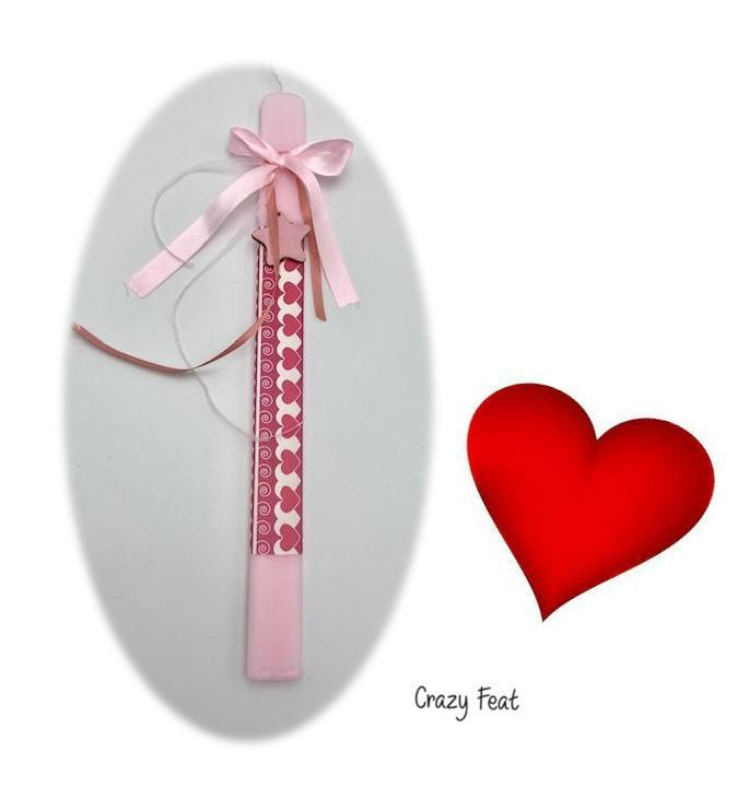 Red Heart Candle Code: 1014