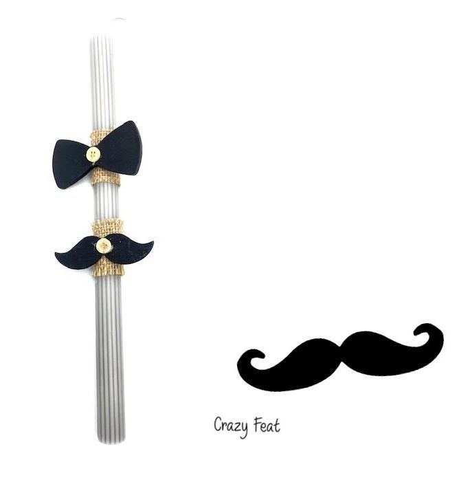 Mustache Candle Code: 1012