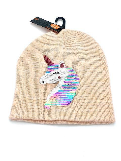 Σκούφος Unicorn Pink (Ηλικία 3-8 ετών)