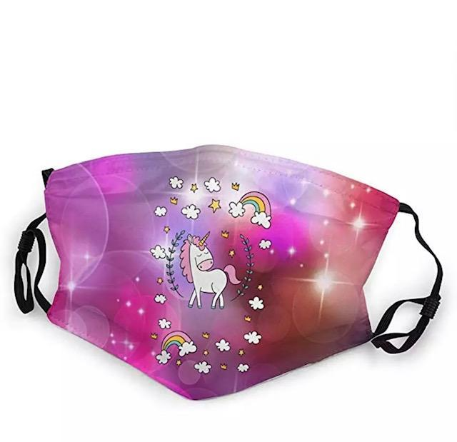 Unicorn kids mask (Age: 4+)