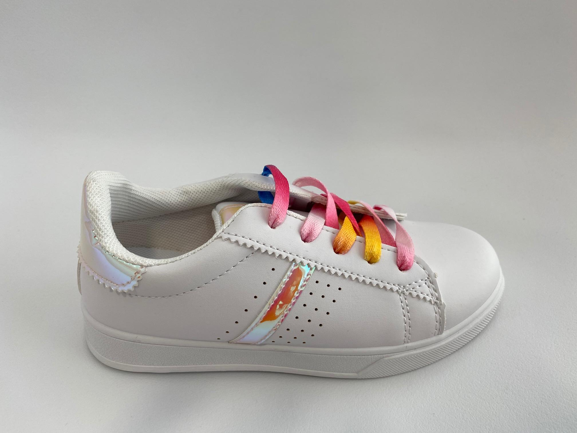 Sneaker White 647-3A PINK (No 31-35)
