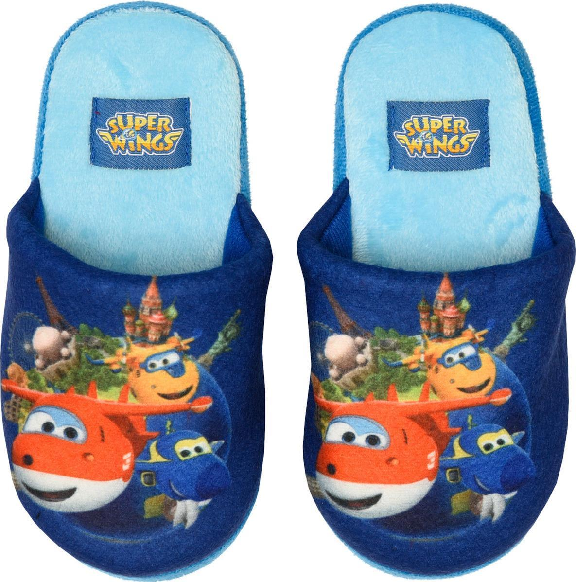 Super Wings Blue Slippers (No 25-30)
