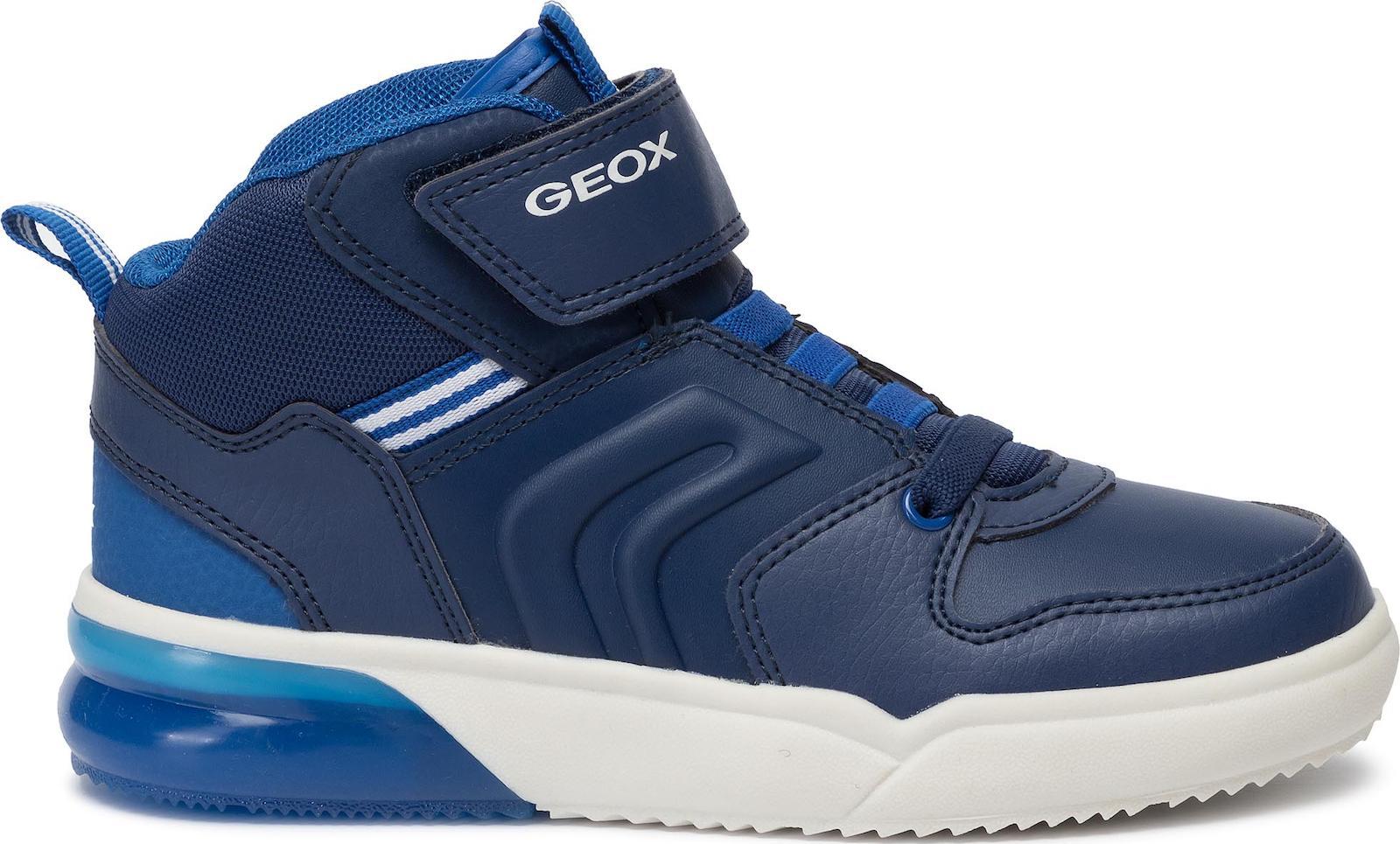 GEOX J Grayjay blue lights