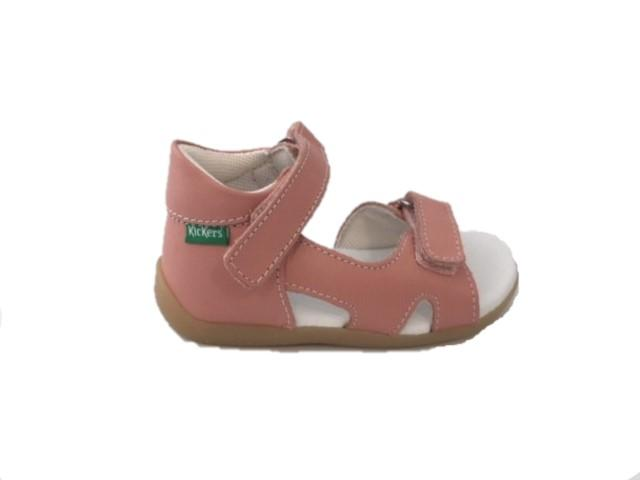 Kickers 696355-10-13 Binsia-2 rose clair