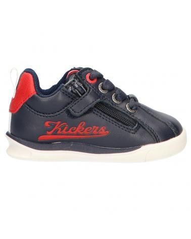 KICKERS CHICAGO BB MARINE/ROUGE