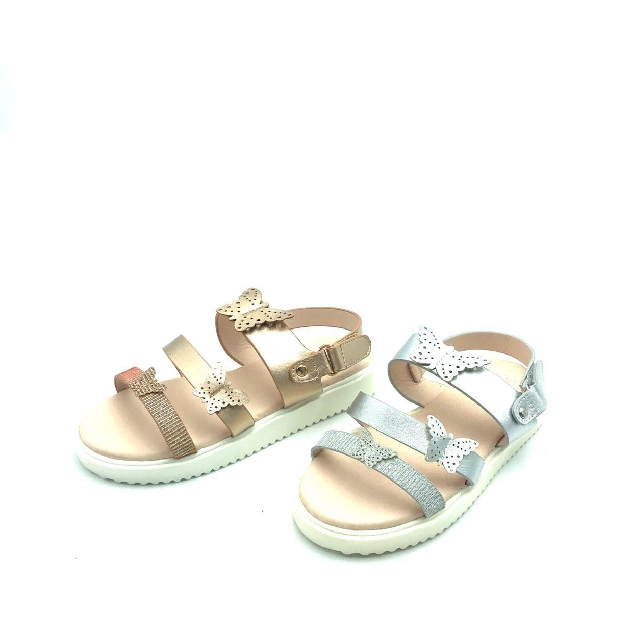 Gold Sandal 9096 Max Shoes France (Χρυσό) (Νο 31-35)