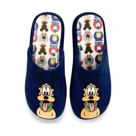 Pluto Disney Kids Blue Slippers (No. 31-36)