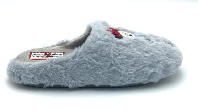 Parex Minnie Gray Slippers (No 36-39)