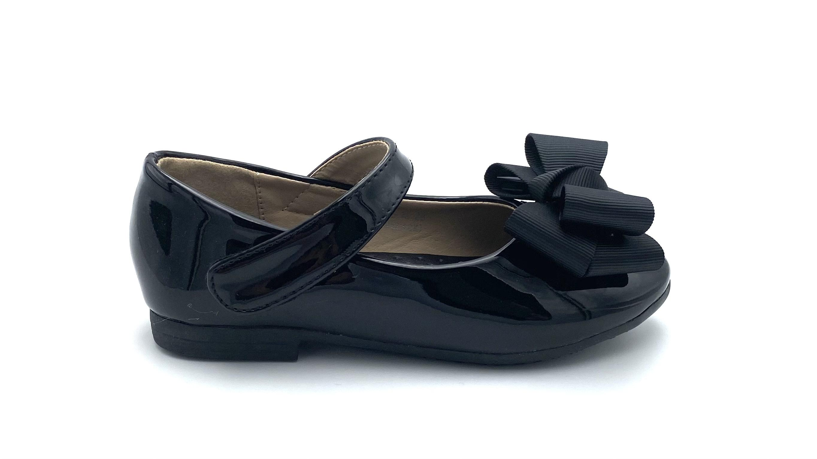 KID085M BALLERINA FLATS BLACK