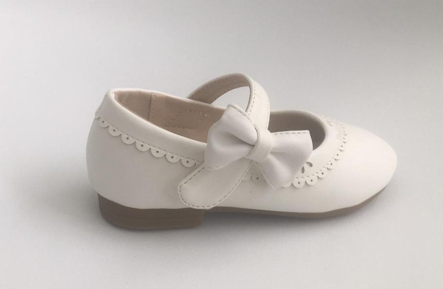 Poti Pati Paris shoes - Ballerina White (No 24-29)