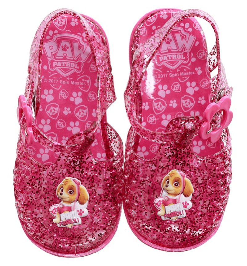 Official Paw Patrol Girls Jelly Sandals Fuxia (No21-26)