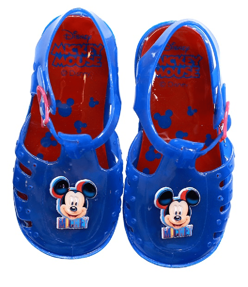 Official Mickey Mouse Boys Jelly Sandals (No 21-26)