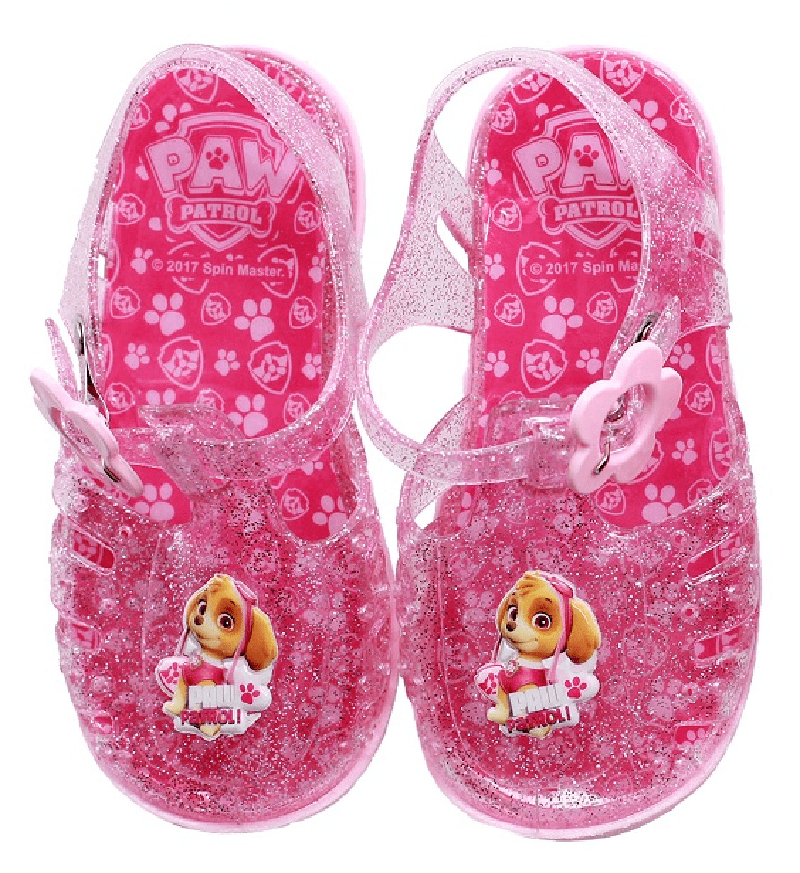Official Paw Patrol Girls Jelly Sandals (No21-26)