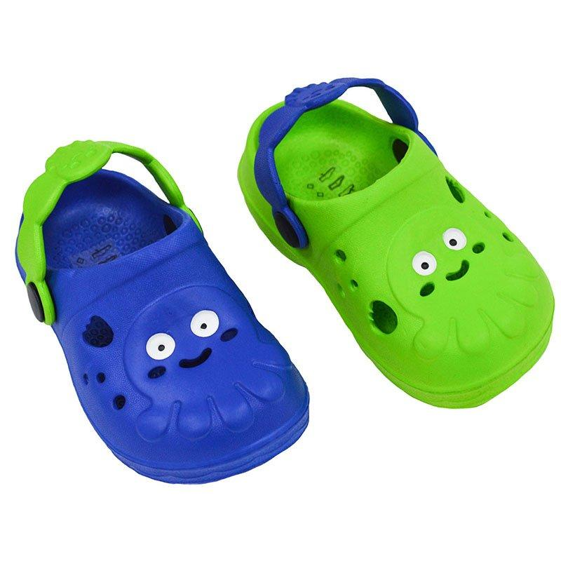 CHILDREN'S OCTOPUS EVA CLOGGS  BOYS (No 24-25)