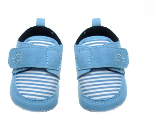SOFT TOUCH INFANTS SHOES B2030 Blue Light