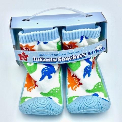 Dinosaur Slipper Sock (No 19-22)