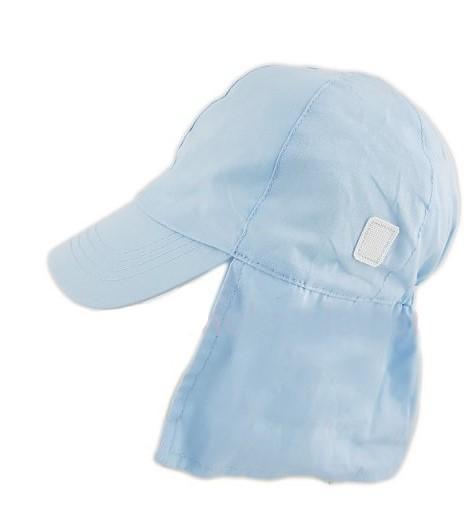 BABY PLAIN LEGIONNAIRE CAP - Blue (0-6 MONTHS)