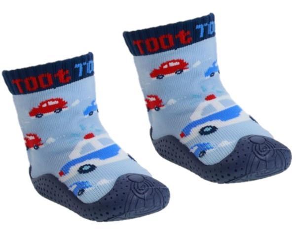 Cars Slipper Sock (No 19-22)