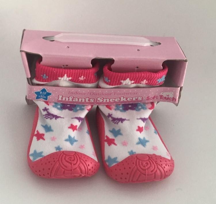 Stars Slipper Sock (No 19-22)