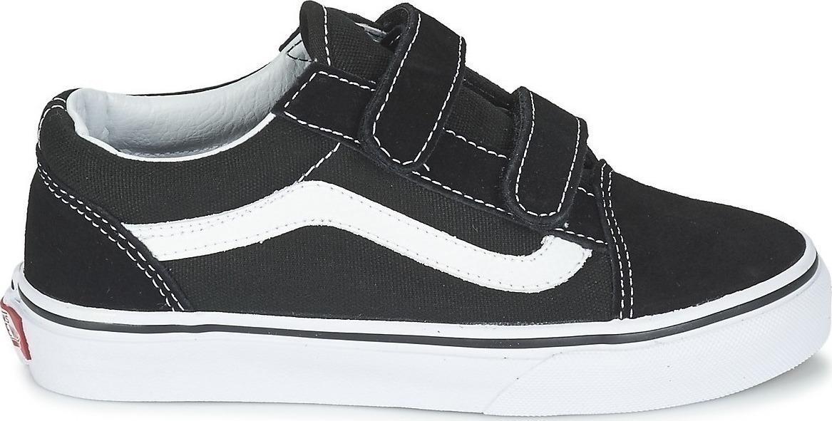 Old Skool V VN000VHE6BT Black/True White (No 27-33)