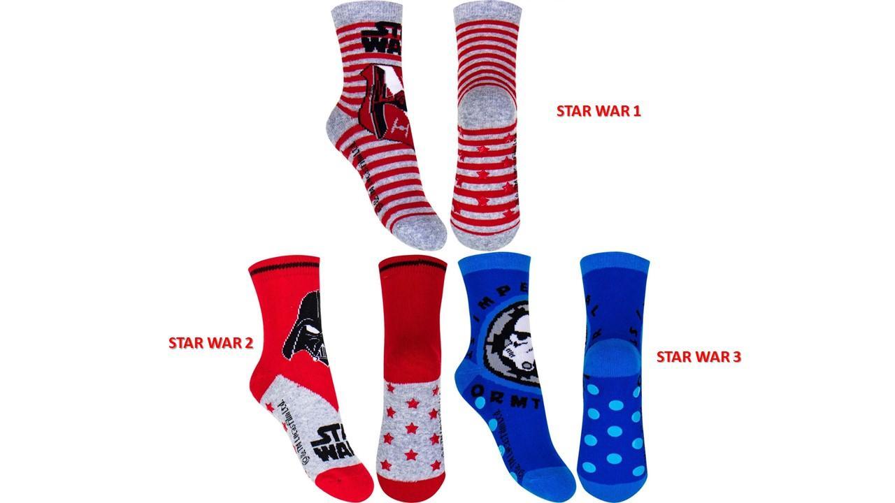 Socks Anti Slip Star wars (Νο 23-34)