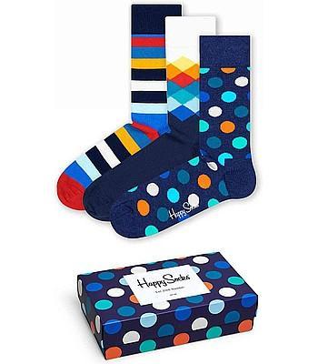 Happy Socks Mix Gift 3 Pack - XMIX08-6000 (Νο 36-40)