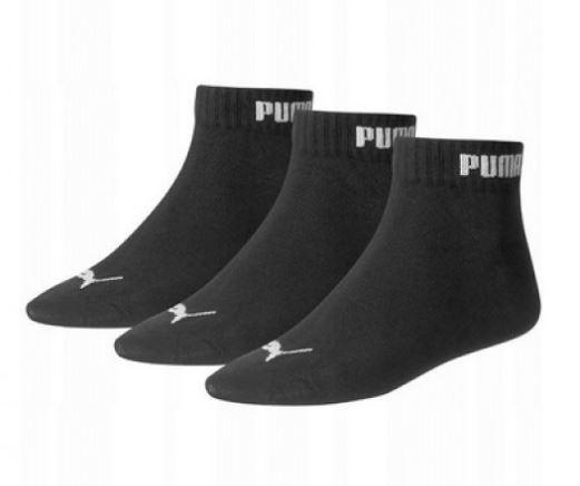 Puma socks short Black No 35-38 (3 pieces)