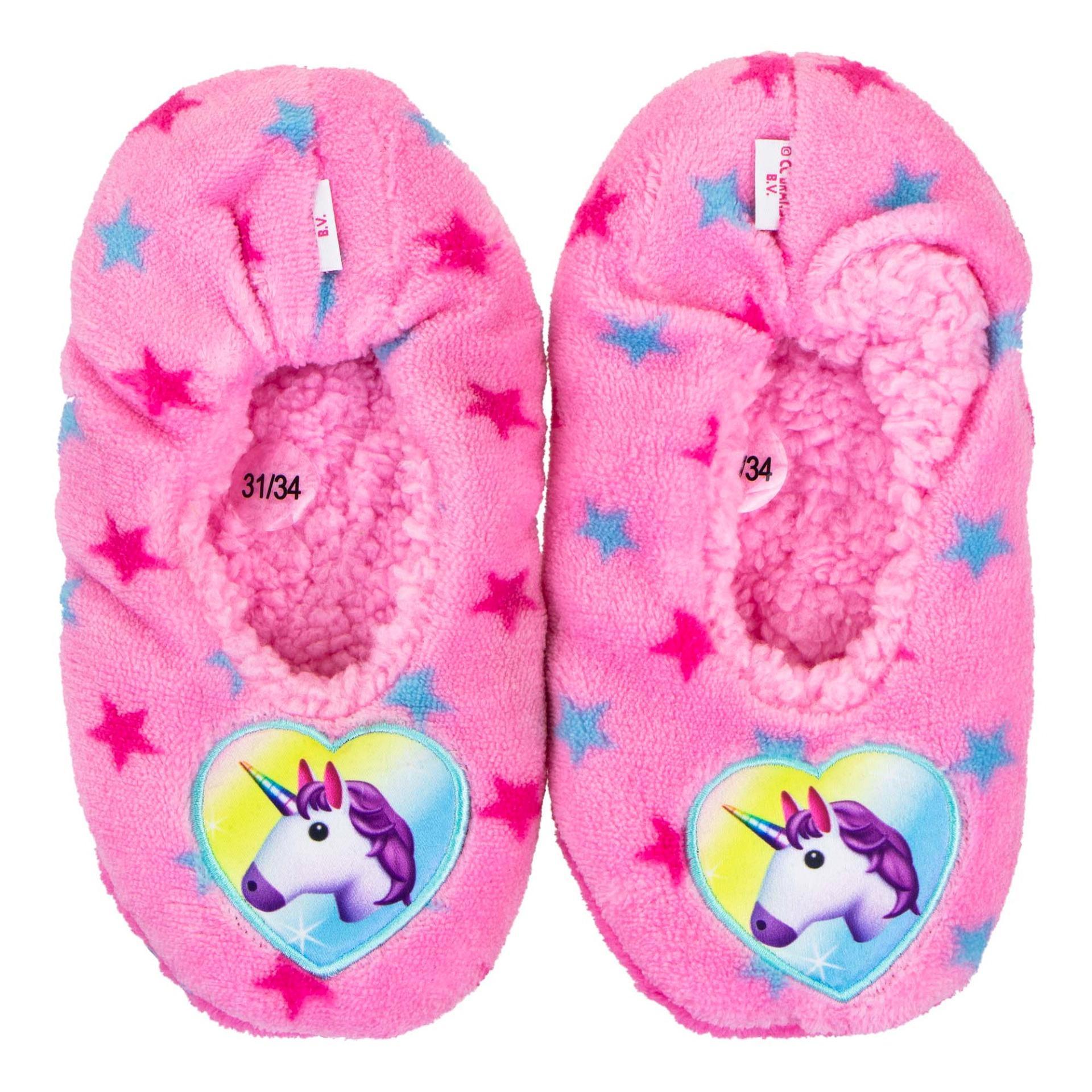 Unicorn Slippers anti-slip stars (No 31-38)
