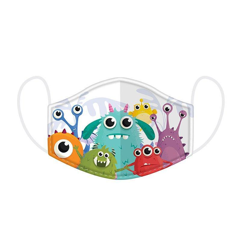 MONSTARZ MONSTER REUSABLE FACE COVERING (3-12 YEARS)